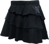 Kothari Solid Girls Regular Black Skirt