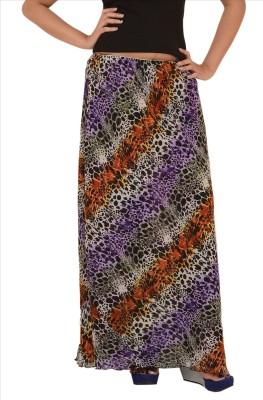 Skirts & Scarves Floral Print Women's Straight Multicolor Skirt