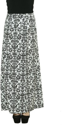 LEBE Graphic Print Women's A-line Multicolor Skirt