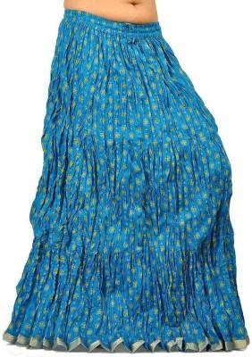 Jaipur Raga Printed Women,s Regular Multicolor Skirt