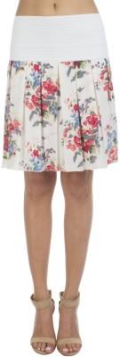 Veakupia Printed Women's Regular Multicolor Skirt