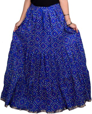 Decot Paradise Polka Print Women's Regular Purple Skirt