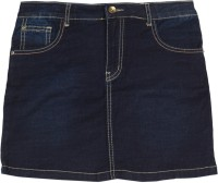 Gini & Jony Solid Girls A-line Blue Skirt best price on Flipkart @ Rs. 1009