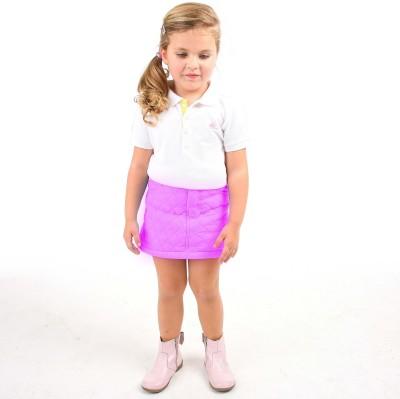 Cherry Crumble California Argyle Girl's A-line Purple Skirt