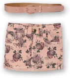 Lilliput Floral Print Girls A-line Red S...