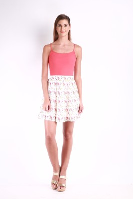 Change360? Printed Women's Gathered Multicolor Skirt