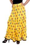 Vani Printed Women's Broomstick Multicol...