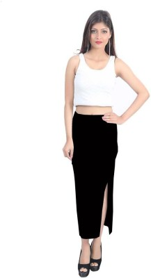 TwiQ S.A. Garments Solid Womens, Girls Tube Black Skirt
