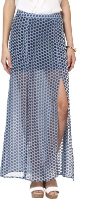 Abiti Bella Floral Print Womens Straight Multicolor Skirt