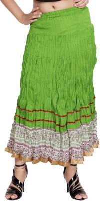 Carrel Printed Women's Broomstick Multicolor Skirt