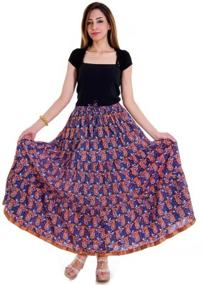 Sunshine Paisley Women's Regular Multicolor Skirt