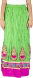 Yaari Embroidered Women's Regular Green ...
