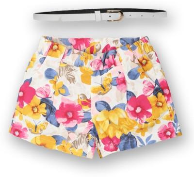 Lilliput Printed Girl's Regular Multicolor Skirt