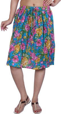 Fashiana Printed Women's A-line Multicolor Skirt