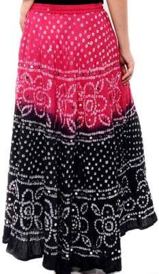 Rastogi Handicrafts Applique Women's Regular Multicolor Skirt