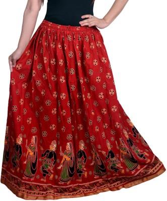 Decot Paradise Printed Women's Regular Multicolor Skirt at flipkart