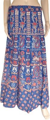 Pinkcityvilla Printed Women's Wrap Around Multicolor Skirt