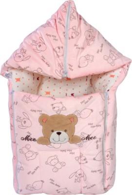 Mee Mee Baby Carry Nest Pink - Teddy Face Sleeping Bag