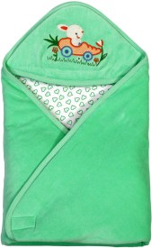 Brim Hugs & Cuddles BABY WRAPPER PREMIUM-Green Sleeping Bag(Green)