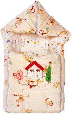 Mee Mee Baby Carry Nest Cream - House Sleeping Bag