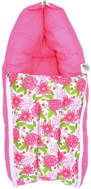 Younique 3 in 1 Baby Bed Carrier/Sleeping_Bag Sleeping Bag(Pink)