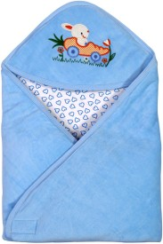 Brim Hugs & Cuddles BABY WRAPPER PREMIUM-Blue Sleeping Bag(Blue)