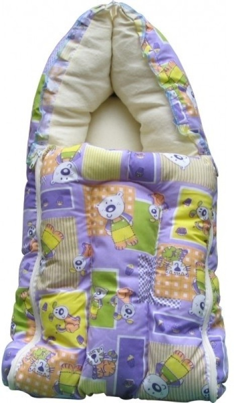 Lil Snoopy Baby Sleeping Bag Wrap Cat Sleeping Bag(Purple)