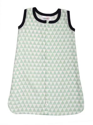 Bacati Tribal Mint Triangles Muslin Sleep Sack Sleeping Bag(Multicolor)