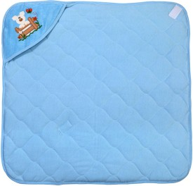 Hugs & Cuddles Baby Wrapper Printed Premium Sleeping Bag(Blue)