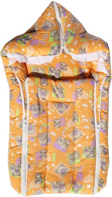MyAngel Baby Bed Carrier Cum Wrap With Double Chain Sleeping Bag