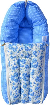 Younique 3 in 1 Pure Cotton Baby Bed Carrier/Sleeping Bag Sleeping Bag