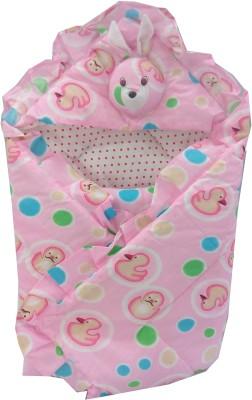 Baby's Clubb BC-SleepVelcroPinkDuck Sleeping Bag