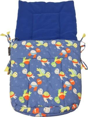 Wobbly Walk Turtle Print With Blue Color Fleece Sleeping Bag