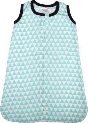 Bacati Aztec Aqua Triangles Muslin Sleep Sack Sleeping Bag