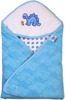 Brim Hugs & Cuddles Designed Hooded Wrapper-Blue Sleeping Bag