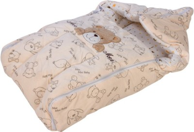 Mee Mee Baby Carry Nest Cream - Teddy Face Sleeping Bag