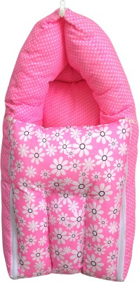 Younique Cotton Baby Bed Carrier Pink Sleeping Bag