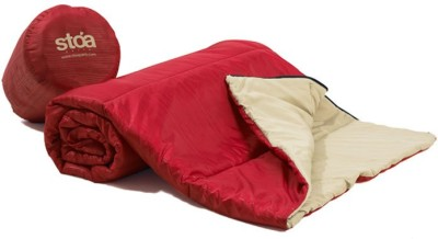 Stoa Paris Checkered Single Quilts & Comforters Red, Beige