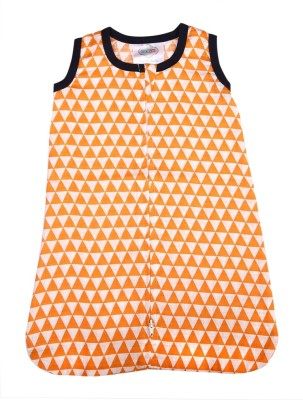 Bacati Aztec Orange Triangles Muslin Sleep Sack Sleeping Bag