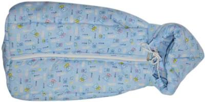 Tiny Petals Baby Blue Wrapper Sleeping Bag
