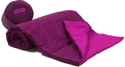 Stoa Paris Checkered Single Quilts & Comforters Purple