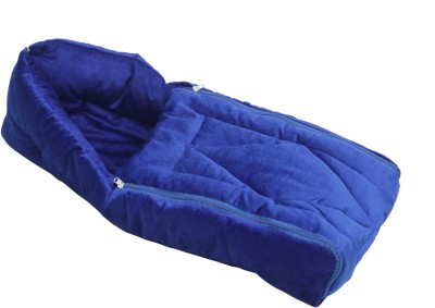 Affaires Baby Wrap / Swaddle / Blanket 3 in 1 Built - Duplex Cotton for Newborn Carrier  Velvet Sleeping Bag