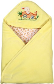 Brim Hugs & Cuddles BABY WRAPPER PREMIUM-Yellow Sleeping Bag(Yellow)