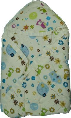Koochie Koo Flower Printed Baby Wrap With Velcro Sleeping Bag