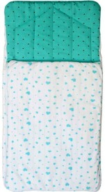 Kadambaby Lil stars Baby nest bag Sleeping Bag(Green, White)