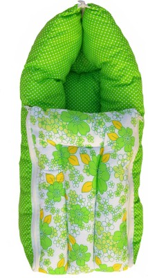Younique Pure Cotton Baby Bed Carrier/Sleeping Bag Green Sleeping Bag