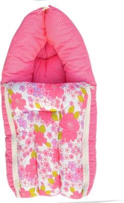 Younique Pure Cotton Baby Bed Carrier/Sleeping Bag Pink Sleeping Bag