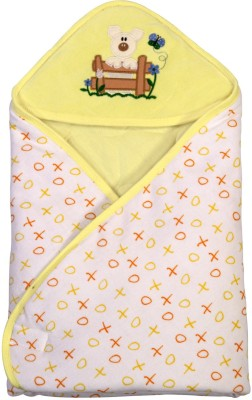 Brim Hugs & Cuddles BABY WRAPPER PRINTED PREMIUM-Yellow Sleeping Bag
