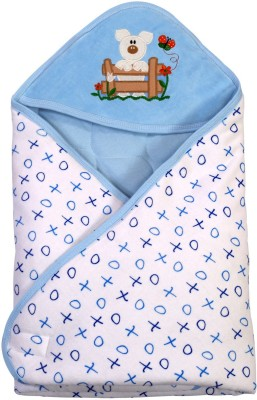 Brim Hugs & Cuddles BABY WRAPPER PRINTED PREMIUM-Blue Sleeping Bag