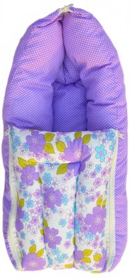Younique Pure Cotton Baby Bed Carrier/Sleeping Bag Purple Sleeping Bag
